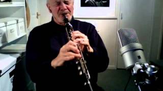 Burgundy Street Blues Jazz Improvisation on Clarinet