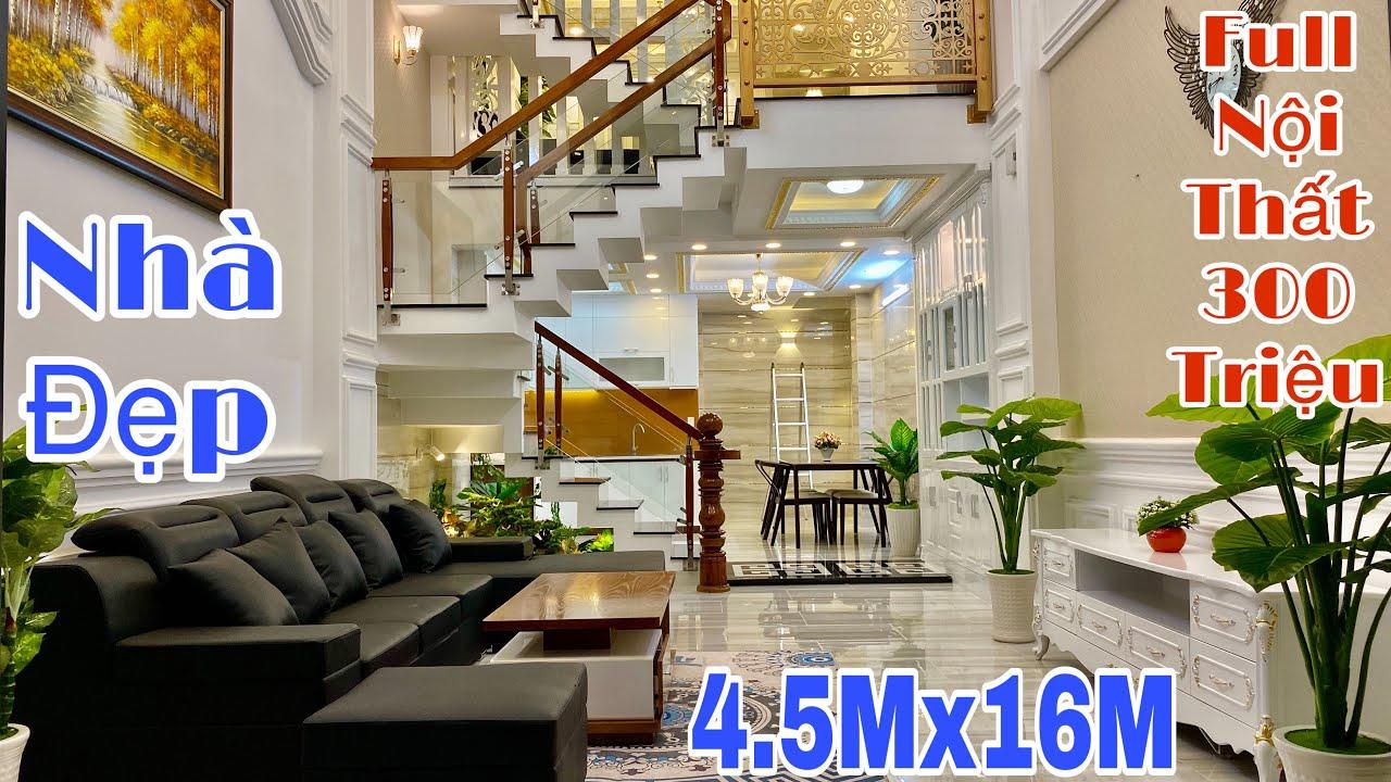 image Bán nhà Gò Vấp   Nhà phố 4.5x16m đẹp xứng tầm đẳng cấp đại gia Sài Gòn   giá rẻ