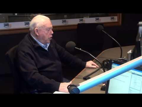 Bob Jane with Neil Mitchell