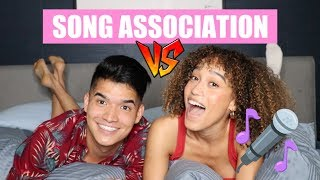 SONG ASSOCIATION GAME VERSUS ALEX WASSABI!