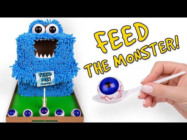 DIY Funny Monster That Eats Socks 🧦 👻