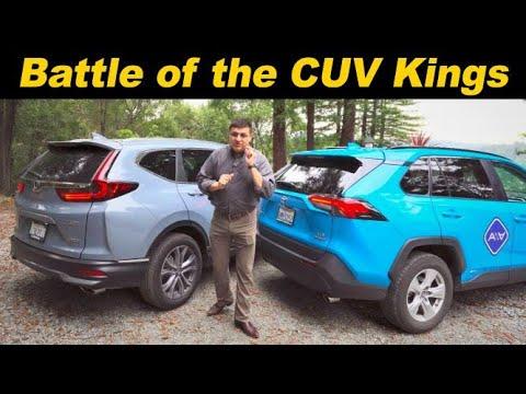 Battle Of The Crossover Kings | Toyota RAV4 Vs Honda CR-V