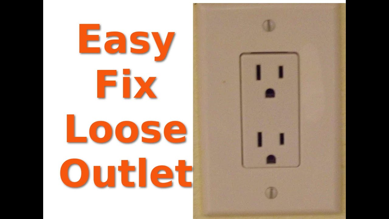 Repairing Loose Electrical Outlets YouTube