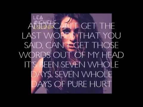 If You Say So >> Lea Michele If You Say So Lyrics