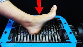 Download SHREDDING PLASTIC LEG TOYS AND FOOD