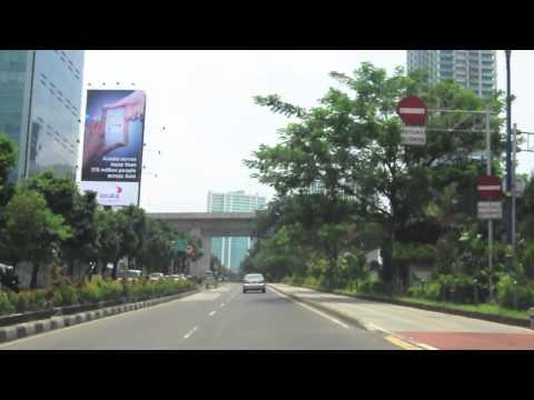 Jakarta City Drive - Rasuna Said Kuningan CBD