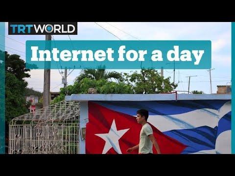 Free mobile internet in Cuba