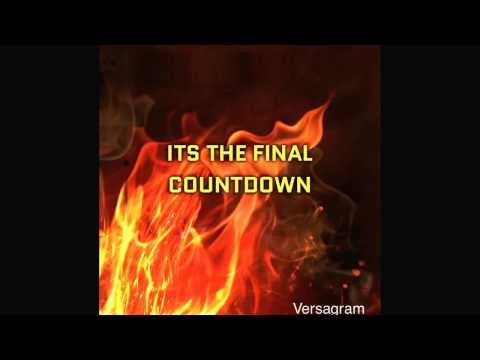 Final countdown (song clip)