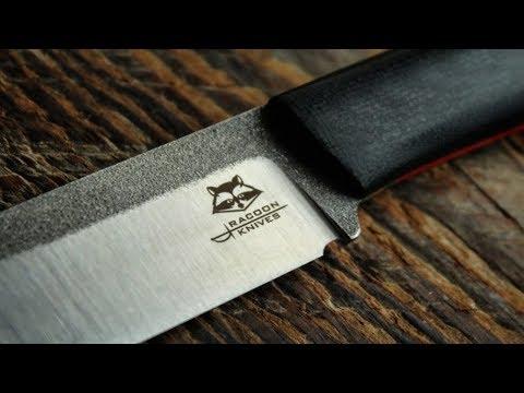 Ножи Racoon Knives новинки 2018 - Выставка ножей КЛИНОК 2018 / Обзор Sekira Sochi