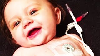 2-Yr-Old Survives Stage 3 Cancer... Doctors Said She Wouldn't Survive 1 month, She Beats All Odds
