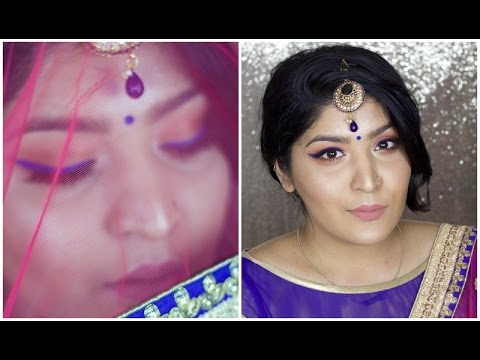 #GRWM | Indian Wedding Get Ready With Me | Kylie Royal Peach Palette