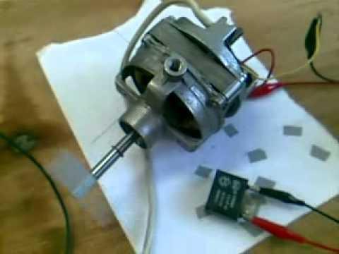 Motor monof sico de un ventilador de pie conexiones - Motores de ventiladores de techo ...