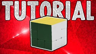 How to Solve the Z Bandage Cube (A) or any Bandage cube where only 3 sides turn