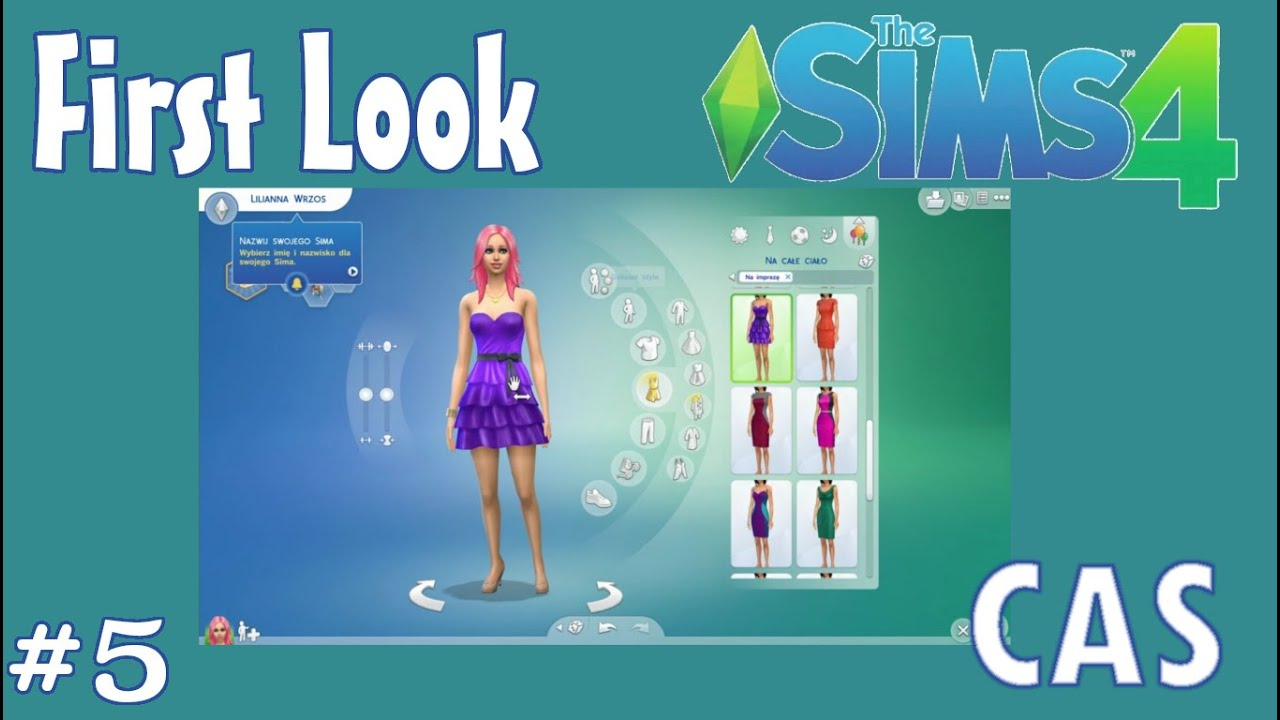 First look the sims 4 cz 5 pogrywamy z tworzeniem for Sims 4 raumgestaltung