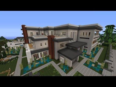 Minecraft Modern Mansion Tour With Download Xbox 360