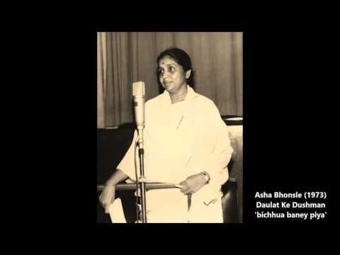 Asha Bhonsle - Daulat Ke Dushman (1973) - 'bichhua baney piya'