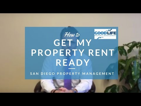 How to Get my San Diego Property Rent Ready – Landlord Education