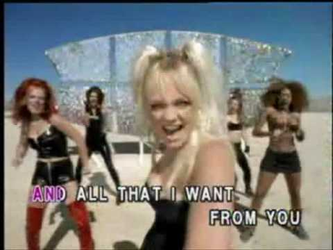 Spice Girls - Say You'll Be There [karaoke]