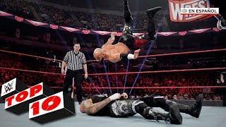 Top 10 Mejores Momentos de Raw En Español: WWE Top 10, Feb 24, 2020