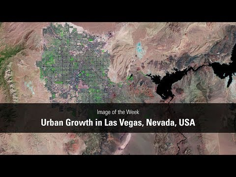 Image of the Week - Urban Growth in Las Vegas, Nevada, USA