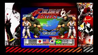 The King of Fighters Collection: The Orochi Saga PS4 KOF '94 Arcade Mode Team Korea