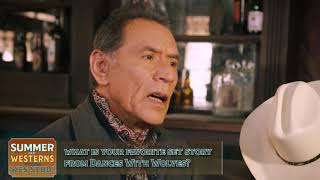 Wes Studi's Favorite Story From Filming Dances With Wolves - HDNET MOVIES