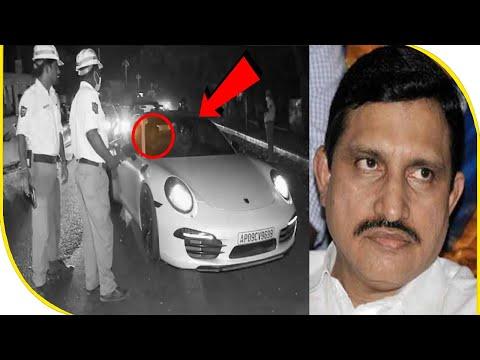 Union Minister's son's Porsche seized by Hyderabad Police | BBN NEWS