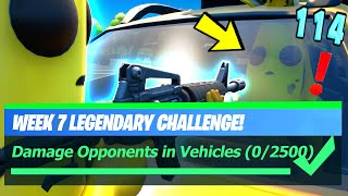 Fortnite - Damage Opponents in Vehicles & BEST Vehicle LOCATIONS
