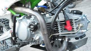pit bike demarrage YX 150 v3 neuf