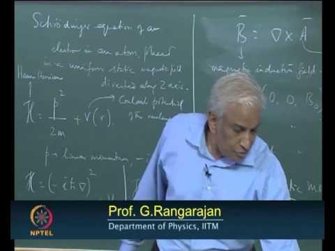 Mod-01 Lec-19 Dia - and Paramagnetism