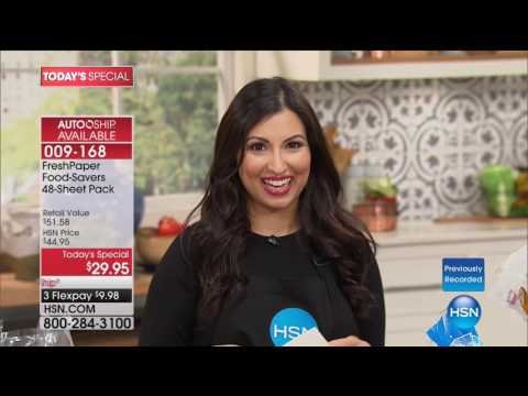 HSN | Kitchen Innovations featuring FreshPaper 08.07.2017 - 05 AM