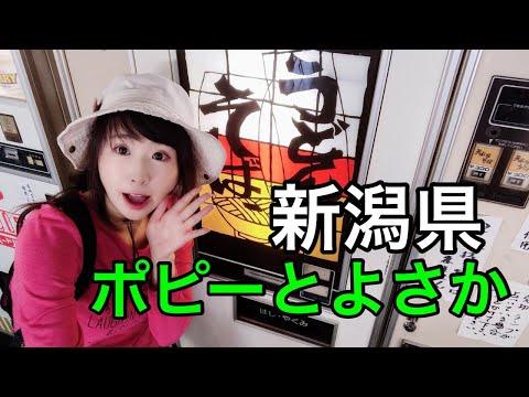 レトロ自販機!新潟県「ポピーとよさか」を楽しむ!Live
