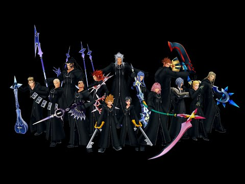 [FR/JAP] Kingdom Hearts 2.5 HD REMIX -Data XIII Fight- Mode Critical