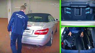 Mercedes Benz E-Class   Remove/install retractable partition