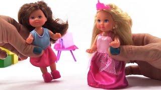Мультфільм для дівчаток про ляльок. Відео про Принцес