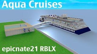 ROBLOX   Aqua Cruises