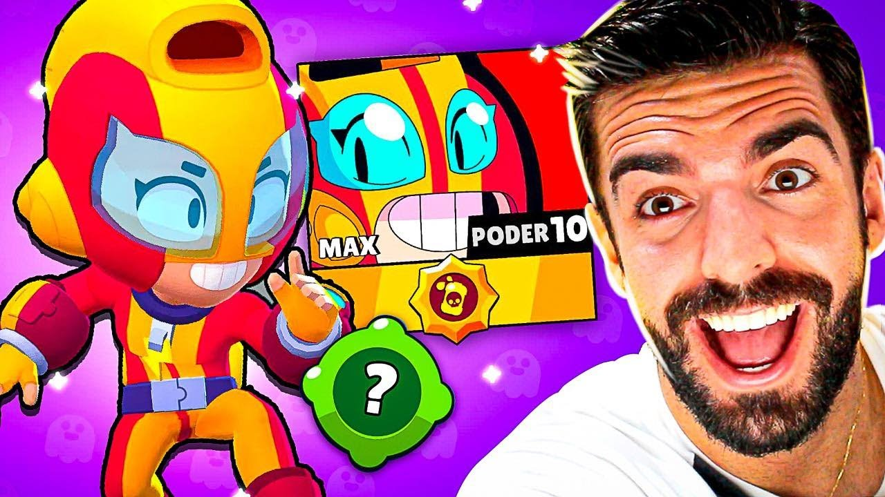 TESTEI A MAX NÍVEL MAXIMO NO BRAWL STARS!