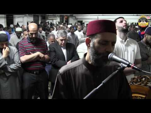 صلاة التراويح الليلة الخامسة رمضان 1437 نيوجيرسى  أمريكا   حسن صالح   hassan sal;eh