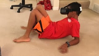 VR Vue FX Unboxing & 1st Virtual Reality Experience - FUNNY!