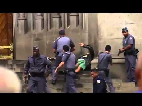 Tiroteio e morte na praça da Sé em São Paulo
