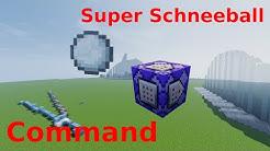 Schneebälle Modifizieren - Minecraft Commands