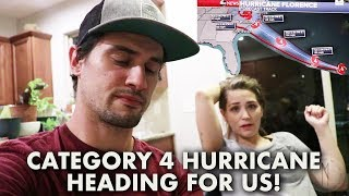 PREPPING FOR HURRICANE FLORENCE! | DO WE EVACUATE?!