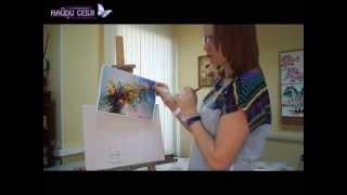 Уроки рисования маслом | Как рисовать цветы(, 2015-09-21T00:48:36.000Z)