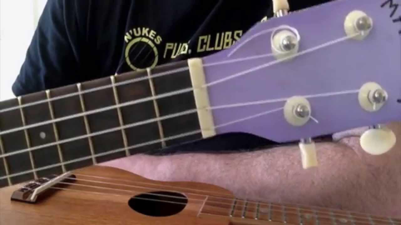Ukulele Nut Width Got A Ukulele Beginners Tips Youtube