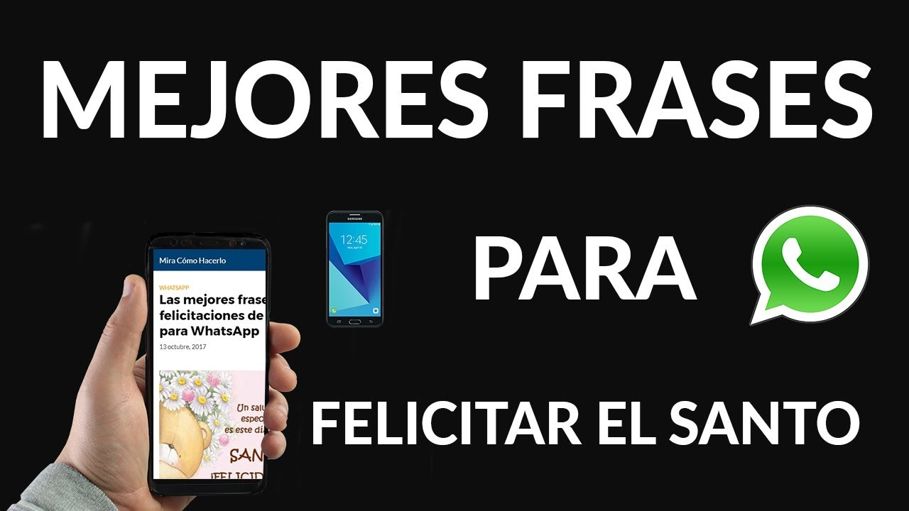 Felicitaciones Santos Bonitas.Las Mejores Frases De Felicitaciones De Santo Para Whatsapp