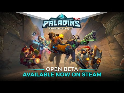 Paladins - Open Beta Available Now on Steam