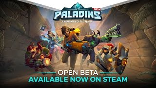 Paladins - Open Beta Available Now on Steam thumbnail