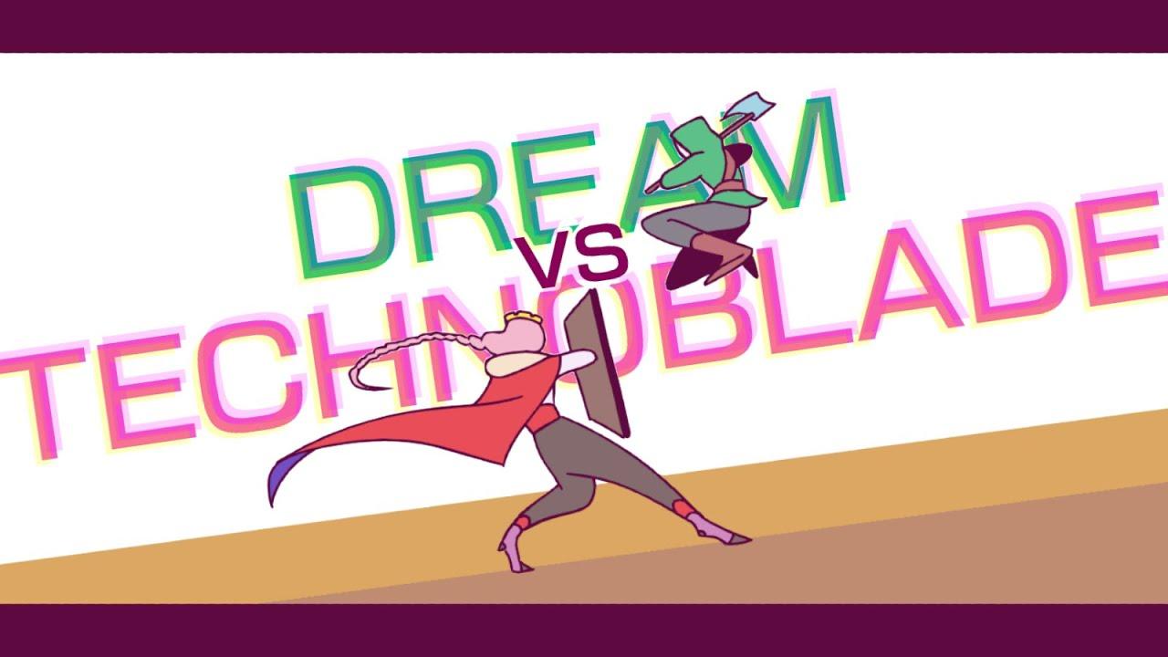 Download Dream vs Technoblade Animation