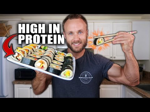 HOW TO MAKE QUINOA SUSHI ROLLS AT HOME