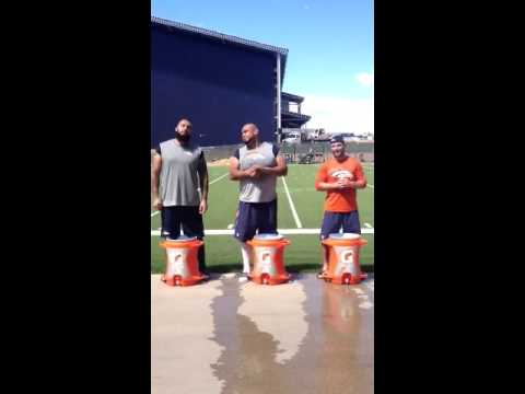 Welker, Ramirez and Vasquez Answer The #ALSIceBucketChallenge